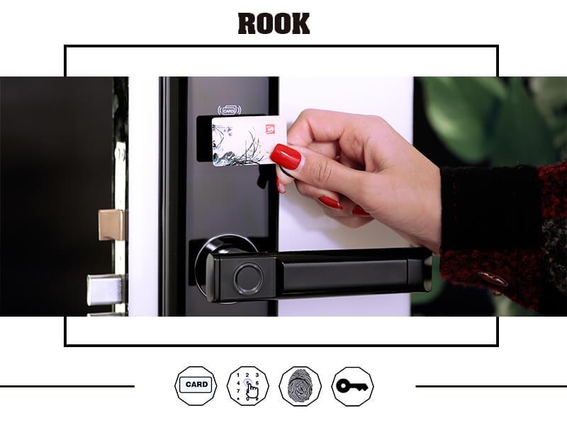 قفل کارتی rook