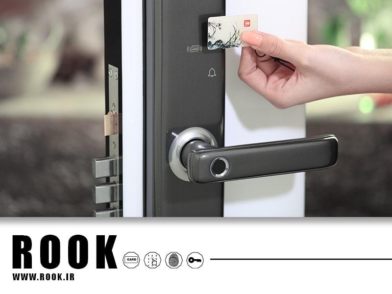 قفل دیجیتال کارتی روک