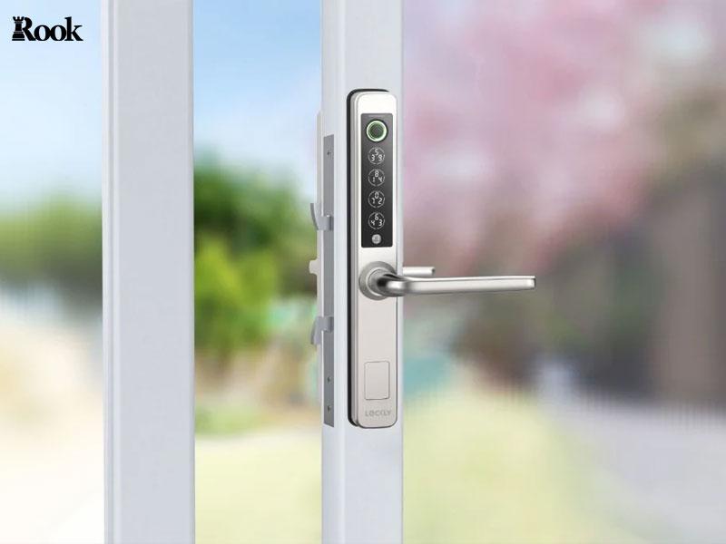 قفل دیجیتال درب حیاط